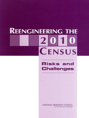 cover image of Reengineering the 2010 Census