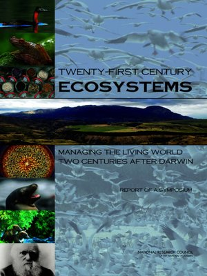 cover image of Twenty-First Century Ecosystems