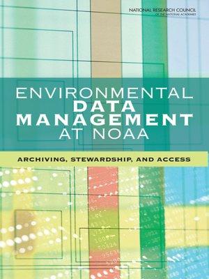 cover image of Environmental Data Management at NOAA