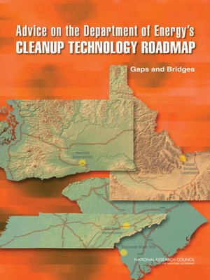 cover image of Advice on the Department of Energy's Cleanup Technology Roadmap
