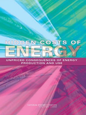 cover image of Hidden Costs of Energy