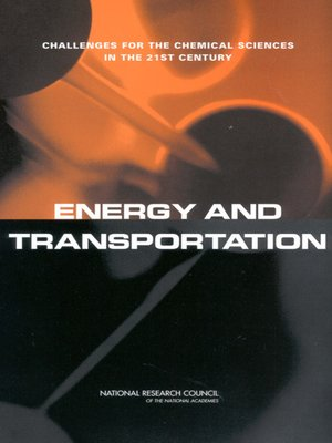 cover image of Energy and Transportation