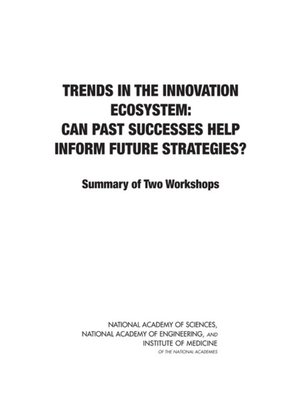 cover image of Trends in the Innovation Ecosystem
