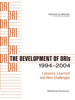 cover image of The Development of DRIs 1994-2004