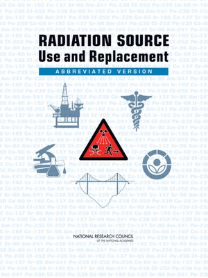 cover image of Radiation Source Use and Replacement
