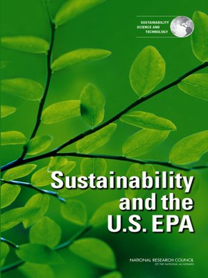 cover image of Sustainability and the U.S. EPA