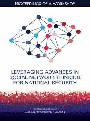 cover image of Leveraging Advances in Social Network Thinking for National Security