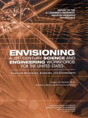 cover image of Envisioning a 21st Century Science and Engineering Workforce for the United States