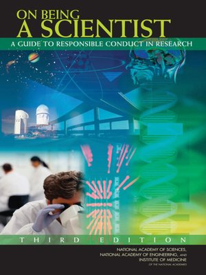 cover image of On Being a Scientist
