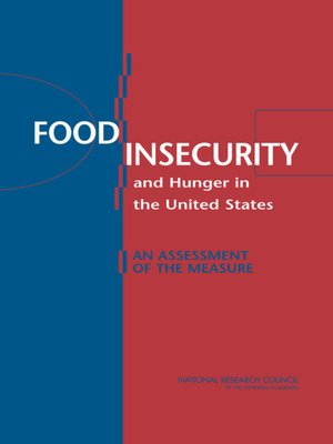 cover image of Food Insecurity and Hunger in the United States