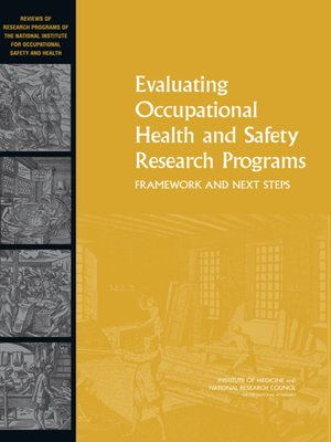cover image of Evaluating Occupational Health and Safety Research Programs