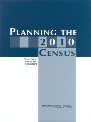 cover image of Planning the 2010 Census