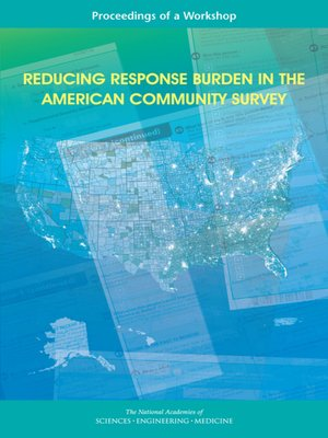 cover image of Reducing Response Burden in the American Community Survey