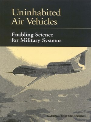 cover image of Uninhabited Air Vehicles