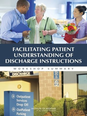 cover image of Facilitating Patient Understanding of Discharge Instructions