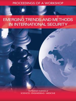 cover image of Emerging Trends and Methods in International Security