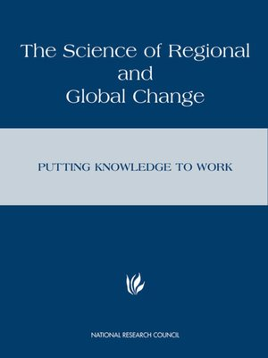 cover image of The Science of Regional and Global Change