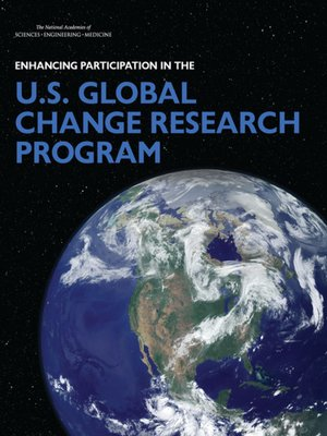 cover image of Enhancing Participation in the U.S. Global Change Research Program