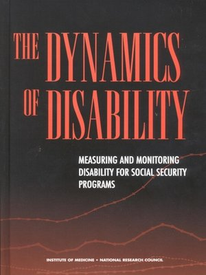 cover image of The Dynamics of Disability
