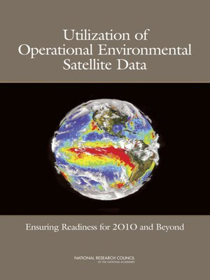 cover image of Utilization of Operational Environmental Satellite Data