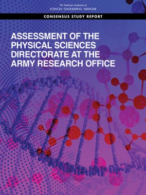 cover image of Assessment of the Physical Sciences Directorate at the Army Research Office
