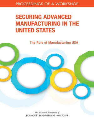 cover image of Securing Advanced Manufacturing in the United States