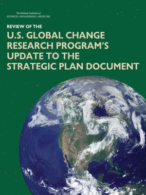 cover image of Review of the U.S. Global Change Research Program's Update to the Strategic Plan Document