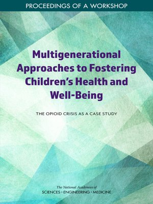 cover image of Multigenerational Approaches to Fostering Children's Health and Well-Being