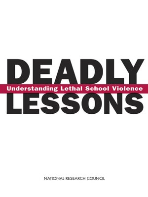 cover image of Deadly Lessons