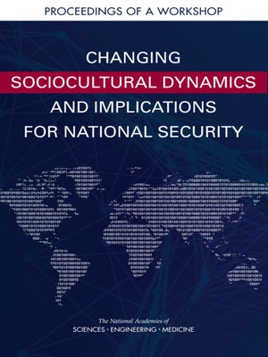 cover image of Changing Sociocultural Dynamics and Implications for National Security