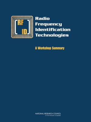 cover image of Radio Frequency Identification Technologies