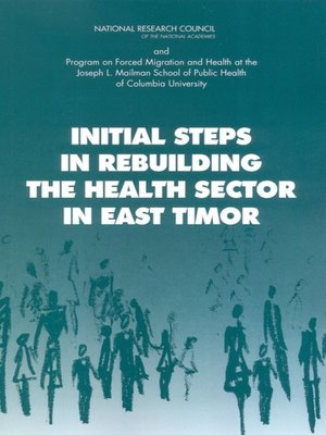 cover image of Initial Steps in Rebuilding the Health Sector in East Timor
