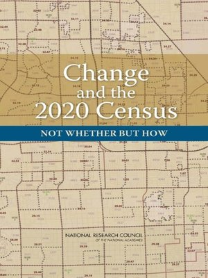 cover image of Change and the 2020 Census