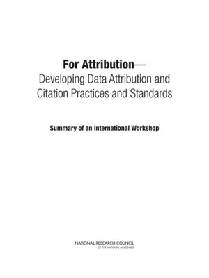 cover image of For Attribution