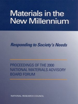 cover image of Materials in the New Millennium