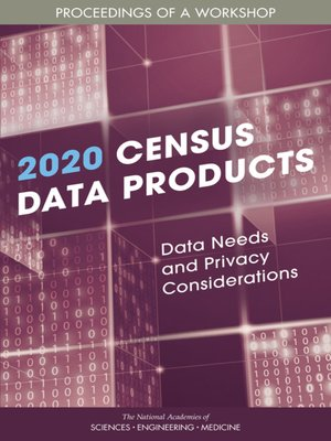cover image of 2020 Census Data Products