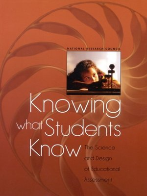 cover image of Knowing What Students Know