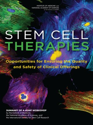 cover image of Stem Cell Therapies