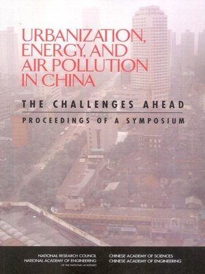 cover image of Urbanization, Energy, and Air Pollution in China