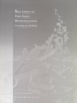 cover image of Size Limits of Very Small Microorganisms