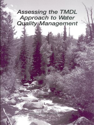 cover image of Assessing the TMDL Approach to Water Quality Management