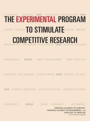cover image of The Experimental Program to Stimulate Competitive Research