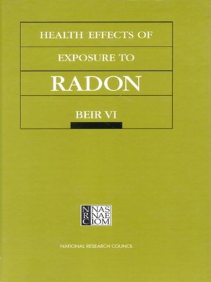 cover image of Health Effects of Exposure to Radon