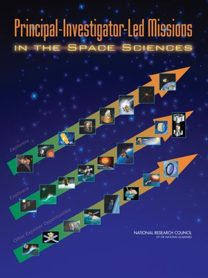 cover image of Principal-Investigator-Led Missions in the Space Sciences