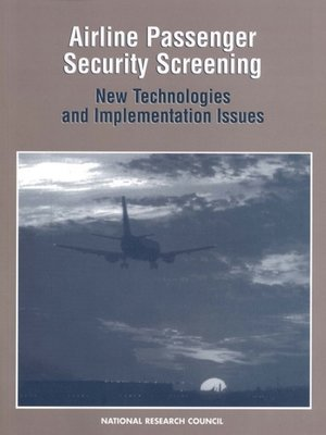 cover image of Airline Passenger Security Screening
