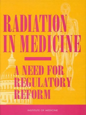 cover image of Radiation in Medicine