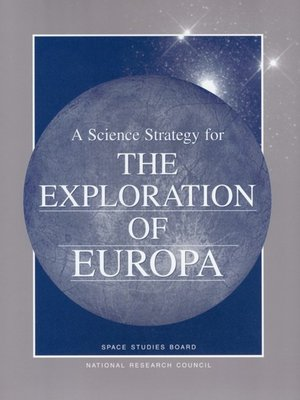 cover image of A Science Strategy for the Exploration of Europa