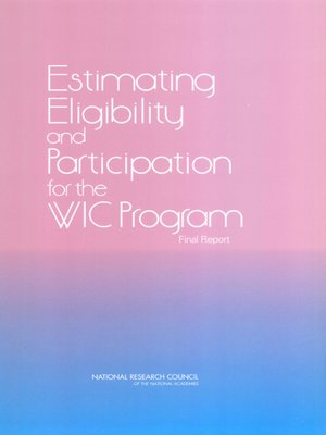 cover image of Estimating Eligibility and Participation for the WIC Program