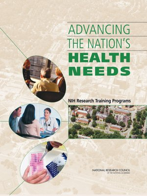 cover image of Advancing the Nation's Health Needs