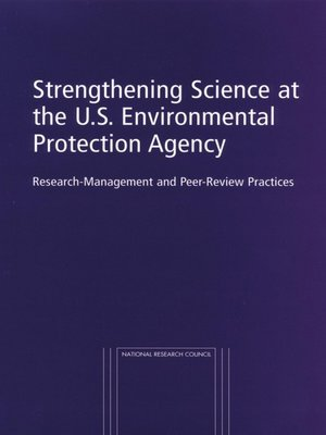 cover image of Strengthening Science at the U.S. Environmental Protection Agency